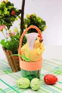 Plastic-Bottle-Into-an-Easter-Basket