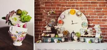 Tea-cups-clock-and-flower-vase