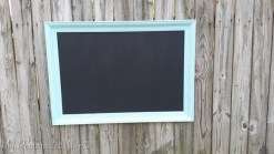 Turqoise-picture-frame-chalkboard