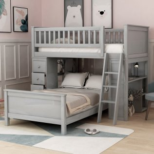 Twin-Over-Twin-Bed-With-Drawers-Storages