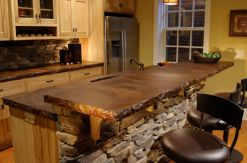 Wood-Block-countertop-and-stone-bar