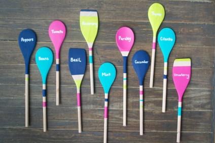 Wooden-spoon-garden-markers