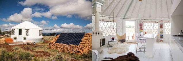 Yurt-home-type