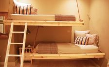 hanging-bunk-beds-with-rope