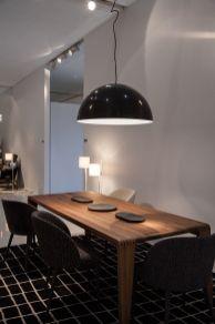 ligne-roset-half-globe-dining-table-lighting