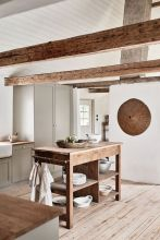 a-contemporary-neutral-kitchen-in-white-and-dove-grey-a-wooden-kitchen-island-wooden-beams-for-a-welcoming-feel