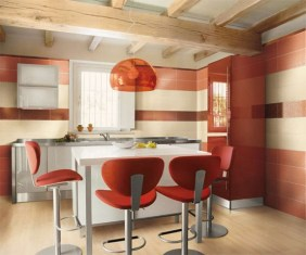 contemporary-orange-kitchen-554x462