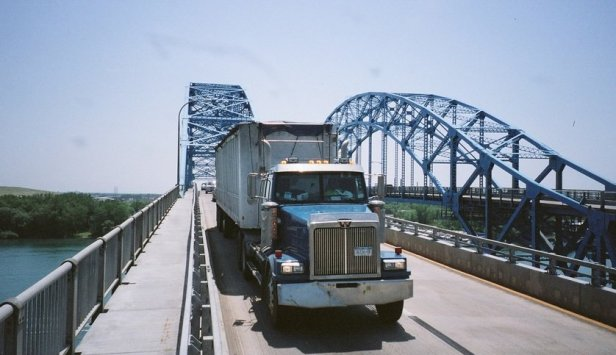 Impact Factor is considered for Vibration induced by Truck on Bridge