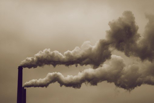 Formation of Smog due to factory emissions