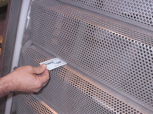 Perforated fine screen (water online)