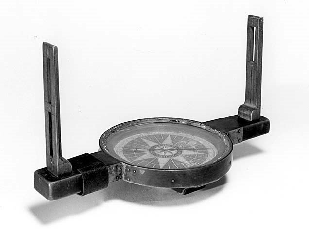 Surveyor's compass (National Museum of American History)