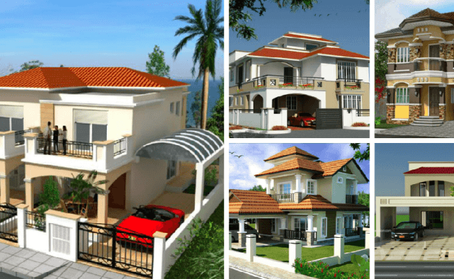Top 30 Most Beautiful Houses Front Designs 2019