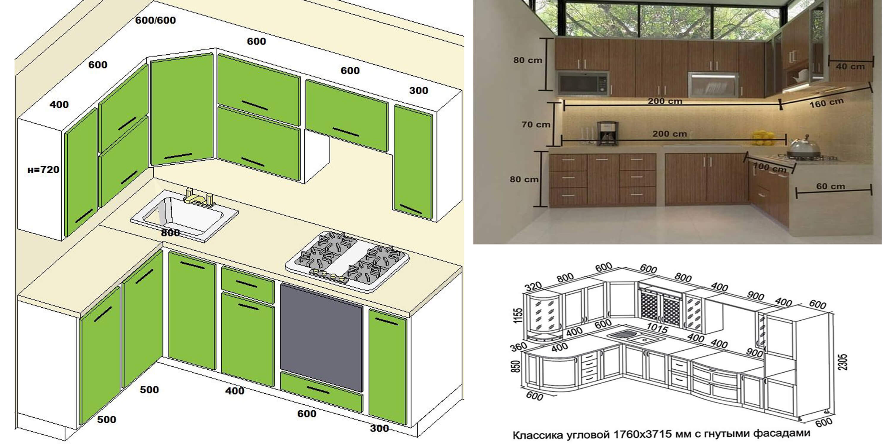 Kitchen Layout With Dimensions   Novocom.top