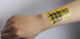 E-skin which self-heals and is recyclable