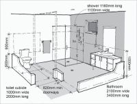 Residential Building Regular Room Dimensions and ...