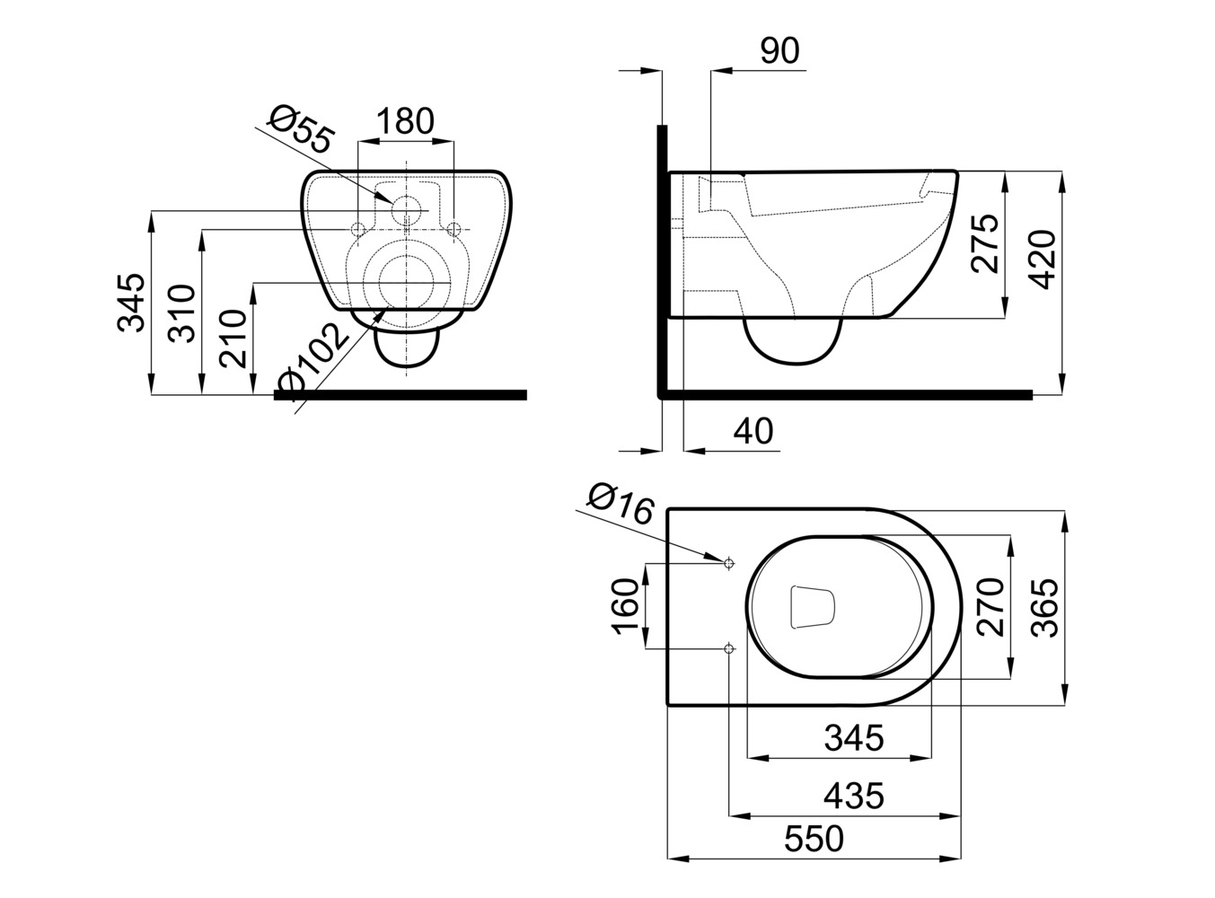 Sinks, Toilets, Shower Heads and Faucets Elements in CAD