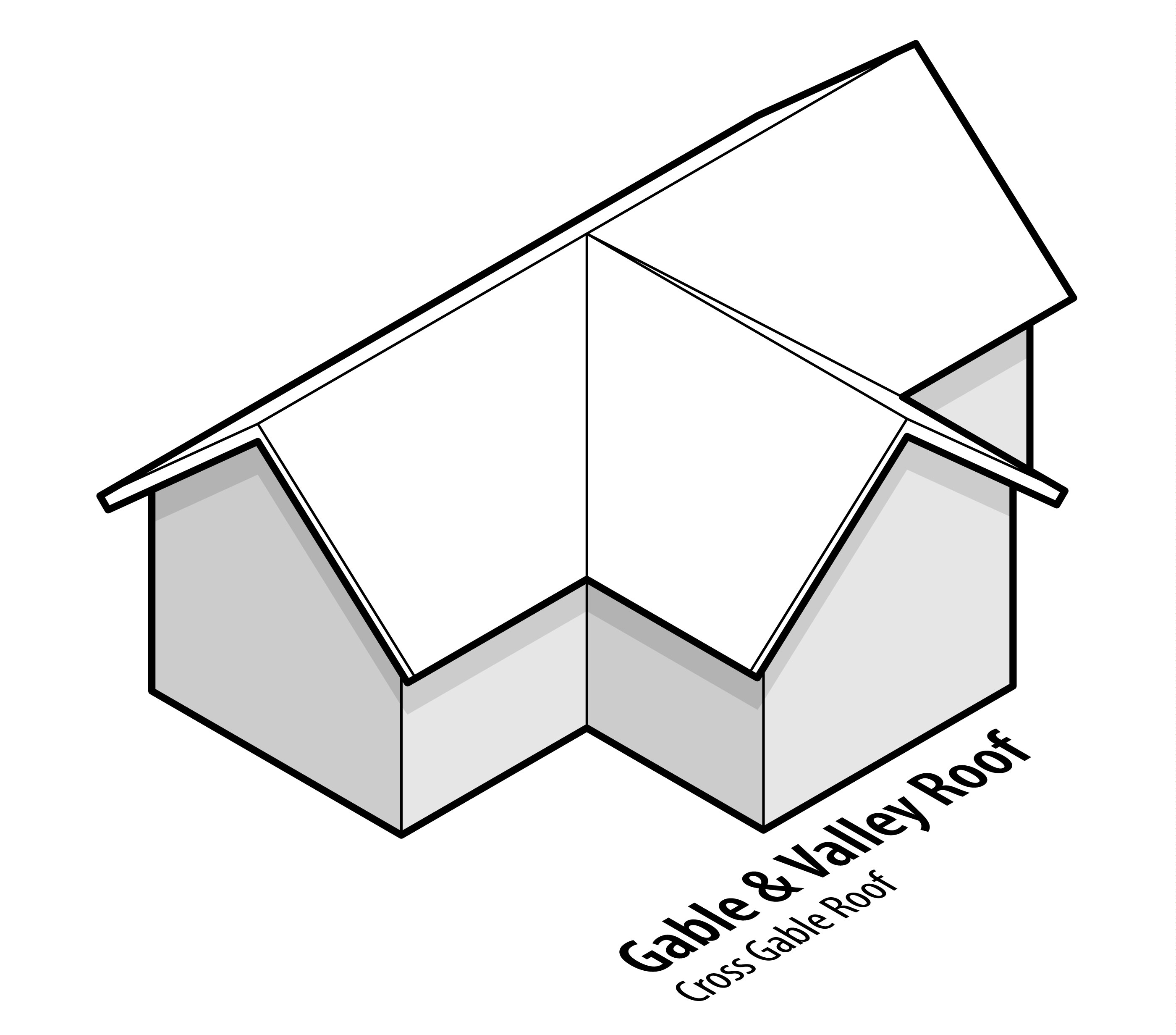 Cross Gable Roof Design