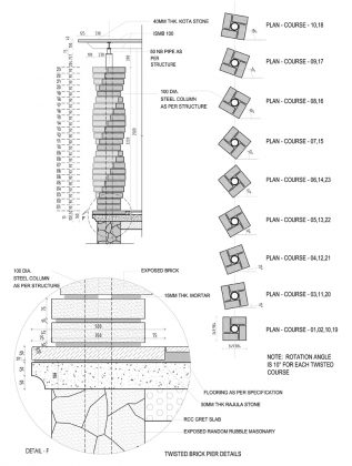 How to do Steel Calculation for Pier, Pile and Circular