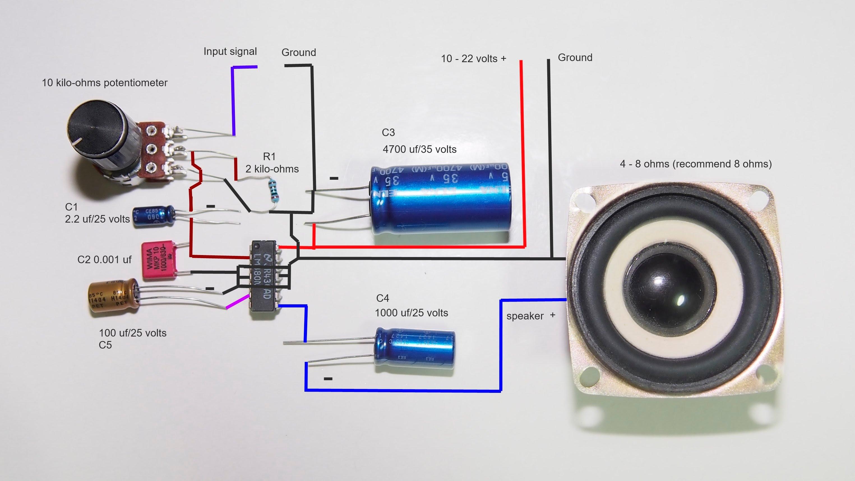 1000 Watt Audio Amplifier Circuit Diagrams How To Make 2 5 Watts Amplifier Engineering Feed