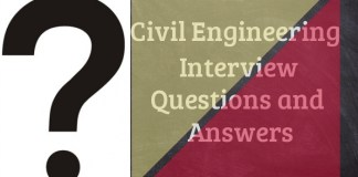 Civil Engineering Interview Questions and Answers