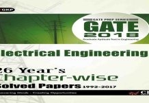 Solved Papers For Electrical Engineering GATE 2018 Chapter-Wise