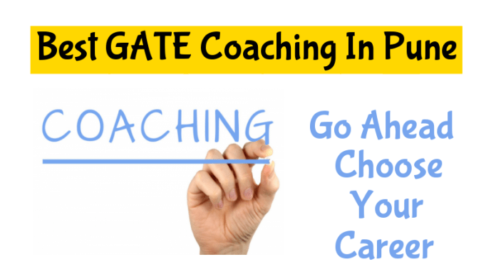 List Of Best GATE Coaching In Pune