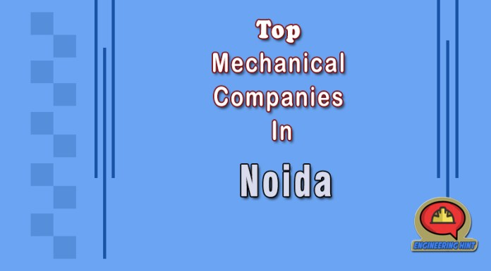 List Of 10 Top Mechanical Companies in Noida