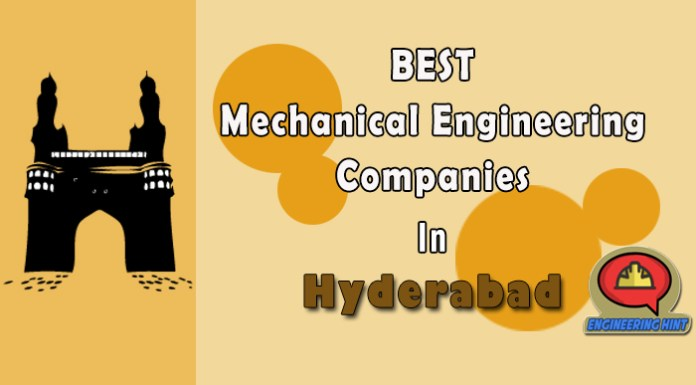 List Of 10 Top Mechanical Engineering Companies In Hyderabad