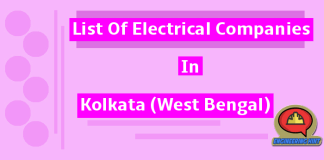 List Of Electrical Companies In Kolkata (West Bengal)