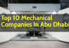 List Of Top 10 Mechanical Companies In Abu Dhabi (UAE)