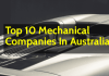 List Of Top 10 Mechanical Companies In Australia