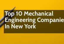 List Of Top 10 Mechanical Engineering Companies In New York
