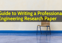 Guide to Writing a Professional Engineering Research Paper