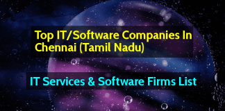 Top ITSoftware Companies In Chennai (Tamil Nadu)