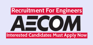 AECOM India Pvt Ltd Recruitment For Engineers Interested Candidates Must Apply Now