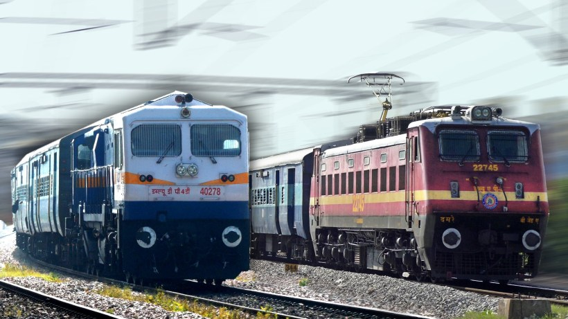 Is the working of diesel and electric locomotive same