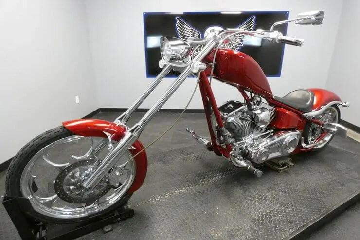 big dog k9 red chopper