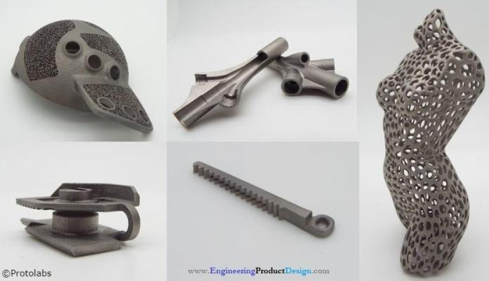 Direct metal laser sintering parts