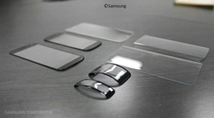Thermoformed glass for samsung galaxy