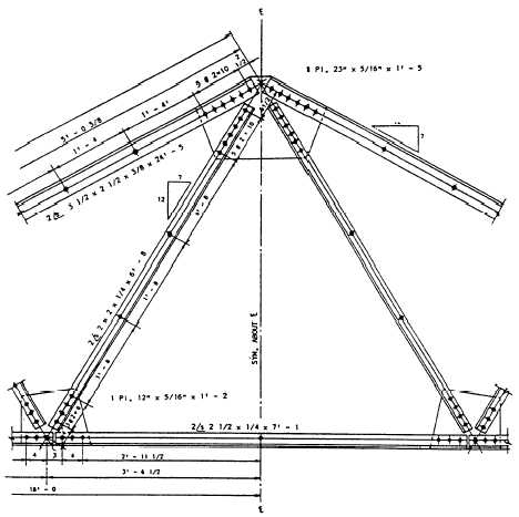 Figure 1-41.Steel truss fabricated from angle-shaped members.
