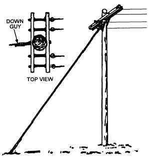 Figure 2-9.Terminal down guy.