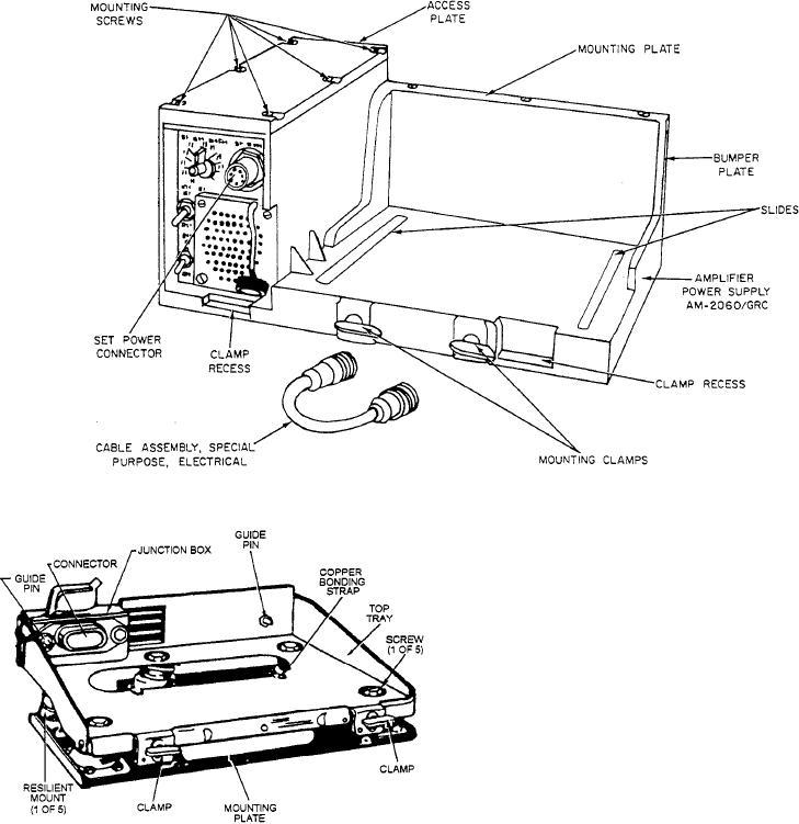 Figure 11-4B.--Amplifier AM-7060 for Radio Set AN/GRC-160.