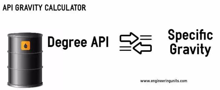 API Gravity calculator - Crude Oil API Gravity Chart -