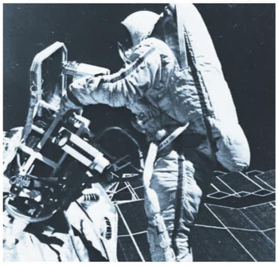 اعمال اللحام في الفضاء