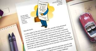 التنسيق وكتابة بريد الكتروني cover letter