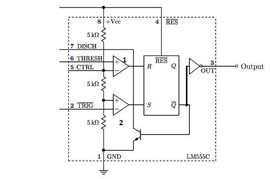 555 Timer IC: Introduction, Basics & Working with