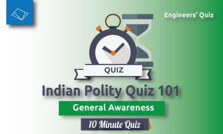 Indian Polity Quiz-101-SSC-JE-Series