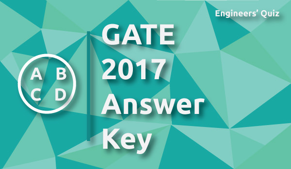 GATE 2017 Civil Answer Key