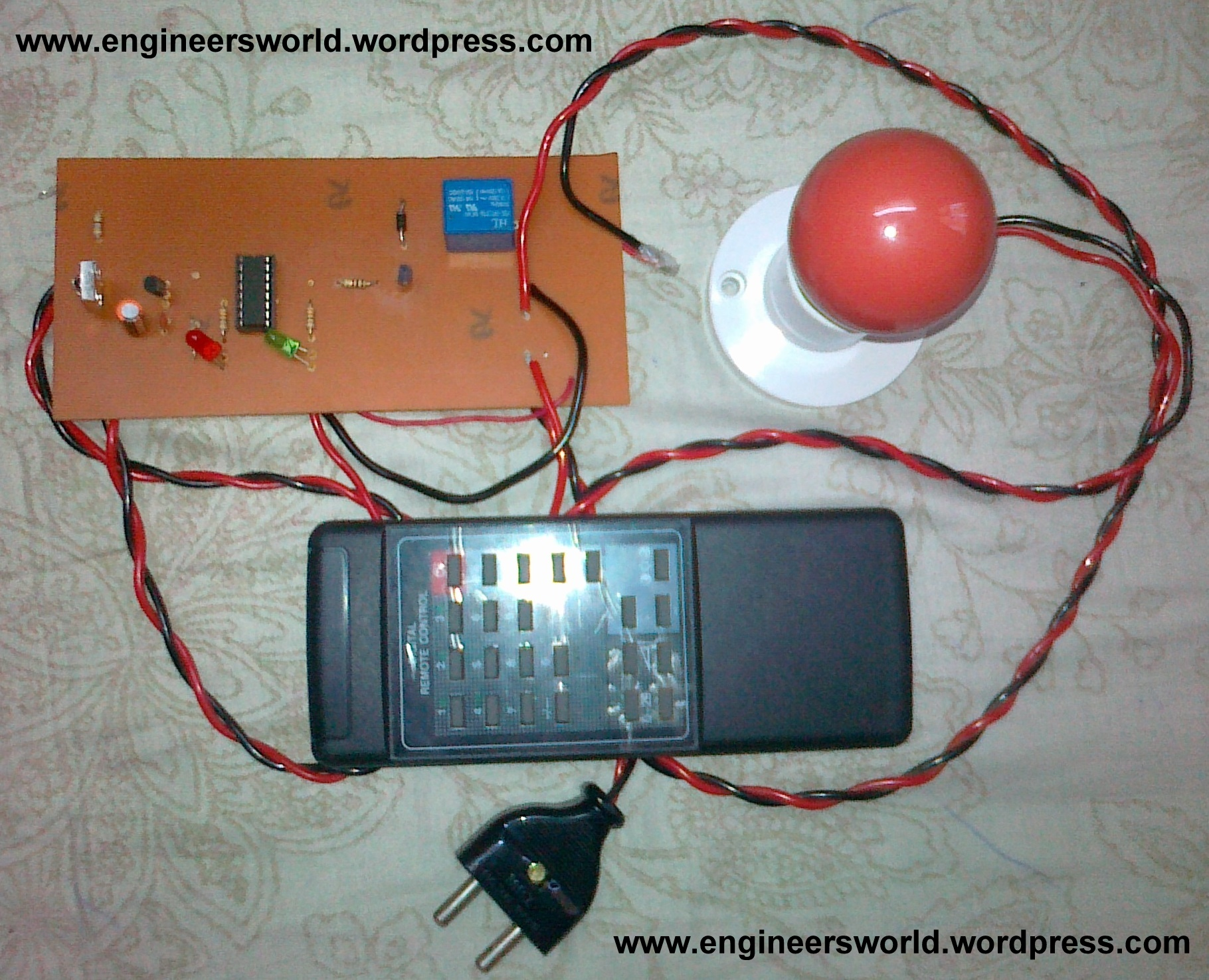hight resolution of controlling home appliances through infrared