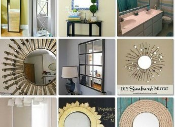 13 clever ways to give plain mirrors a new look